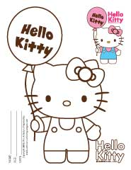 Coloring Pages Hello Kitty Printables