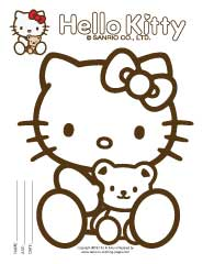 Hello Kitty Coloring Printables